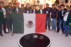 En Colombia, los Quark logran un triunfo más para la BUAP y para México