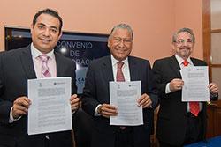Fundación BUAP y CANACOPE firman convenio de colaboración en beneficio de universitarios.