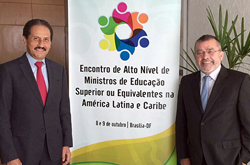Asiste Rector Alfonso Esparza a Reunión de Ministros de Educación convocada por la UNESCO, en Brasil