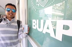 Estudiantes BUAP crean aplicación para rastrear y ubicar objetos en tiempo real