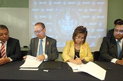 Facultad de Contaduría Pública renueva convenio de colaboración con el Colegio de Contadores Públicos