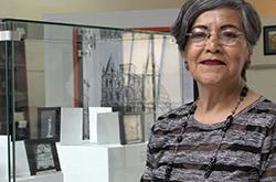 Lilia Martínez y Torres impartió conferencia sobre memoria histórica de Puebla en la BUAP