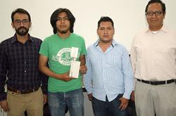 Académicos de la FCE diseñan sistema híbrido para recolección de energía