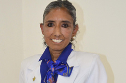 Rosa Isabel Pineda Torres, 40 años de servicio a la BUAP