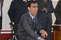 En el Colegio de Historia de la BUAP se gradúa el primer profesionista con parálisis cerebral