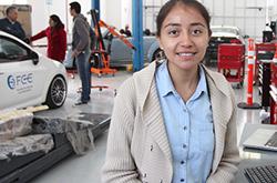 Estudiante de la BUAP competirá en la final del programa Infiniti Engineering Academy