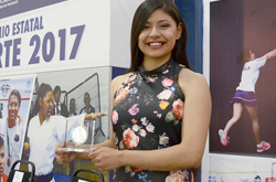 Victoria Cruz Romano, estudiante BUAP, Premio Estatal del Deporte